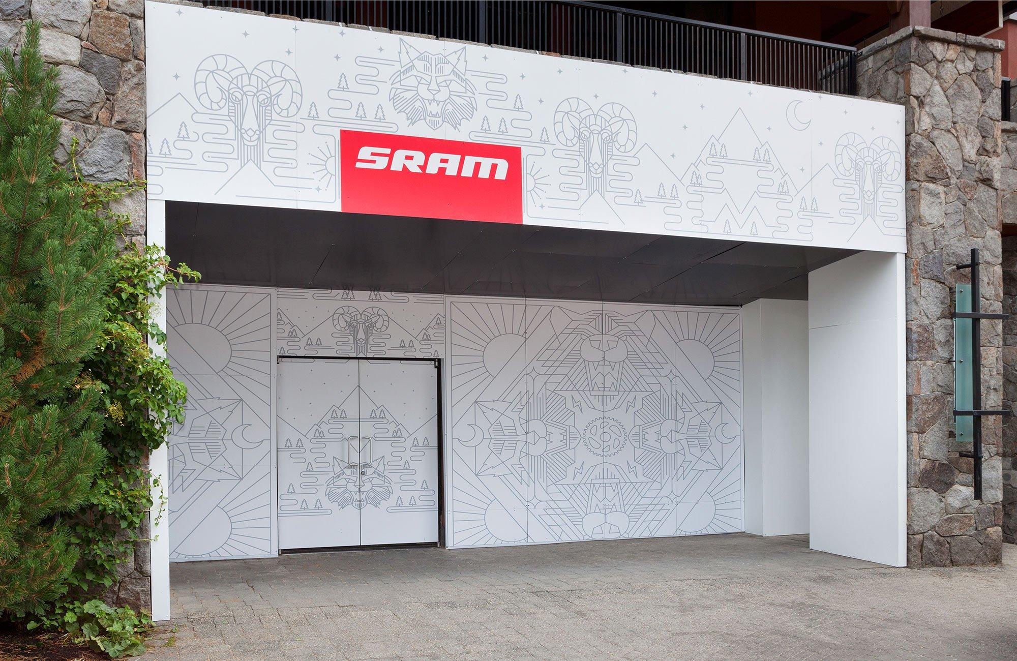 SRAM 2015 Pop Up by Ario Construction Inc