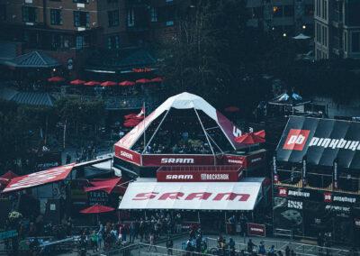 SRAM Custom Tent
